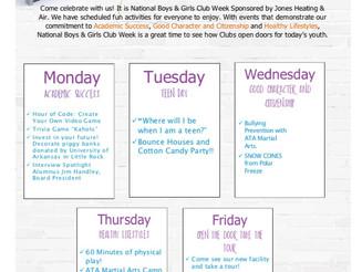 Jones Heating & Air's National Boys and Girls Club Week