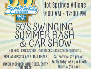 50's Swinging Summer Bash & Car Show- RESCHEDULED