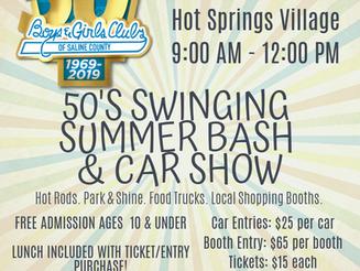 50's Swinging Summer Bash & Car Show- RESCHEDULED