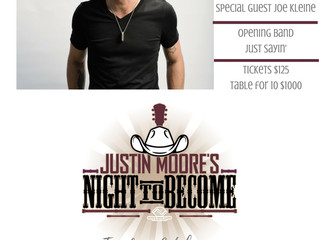 Justin Moore's Night to Become...