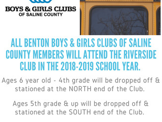 Exciting News for Benton Club