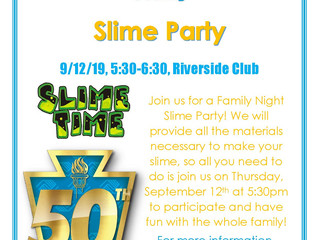Parent Night Slime Party