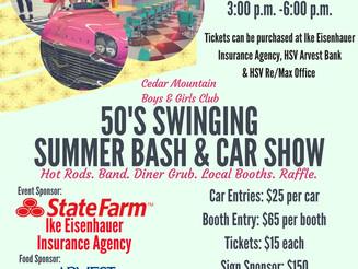 50's Swinging Summer Bash & Car Show