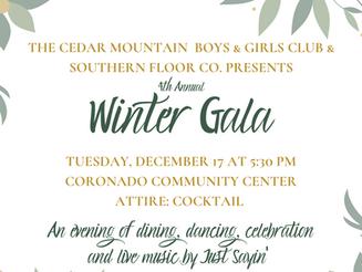 Cedar Mountain Winter Gala