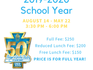 2019-2020 After-School Program