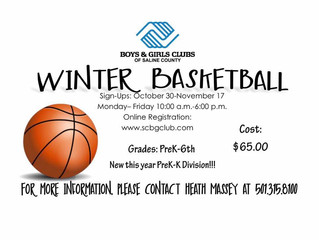 Winter Basketball Sign Ups