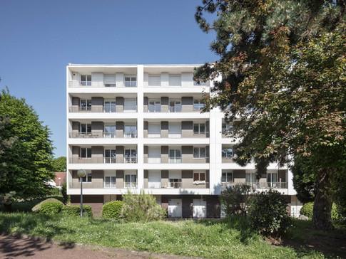 Livraison de la réhabilitation  de 253 Logements a Saint-Prix (Val d'Oise Habitat)