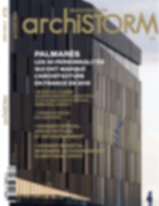 Publication dans le magasine ARCHISTORM n°76 Janvier-Février 2016