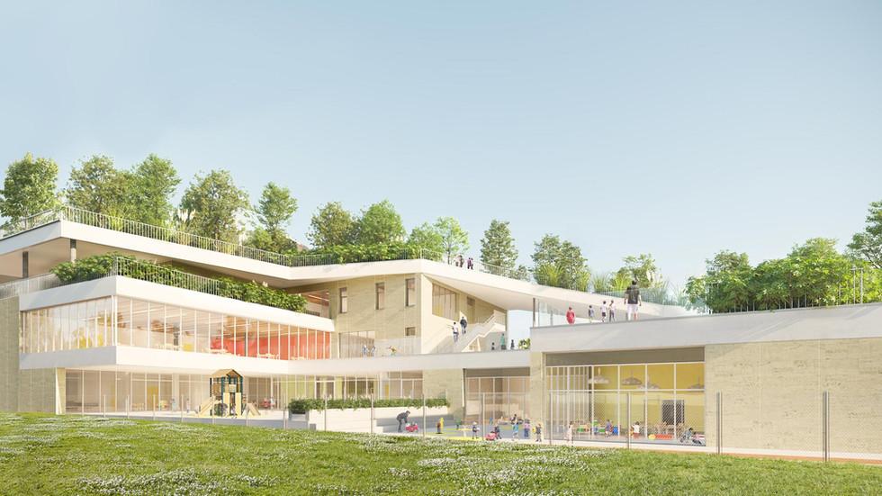 Lauréat à Bagnolet (avec Acme architecte associé)