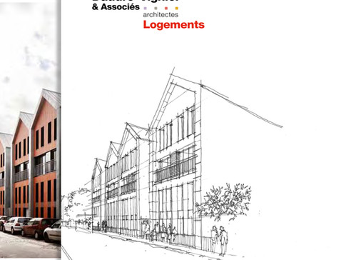 Sortie du nouveau book de l'agence Daudré-Vignier & associés, compilé des références de l&#3