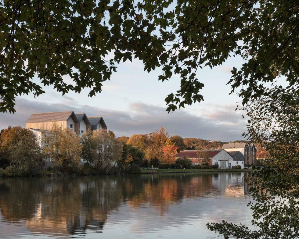 Le chantier de Château Thierry avance construction de 55 logements pour Clésence