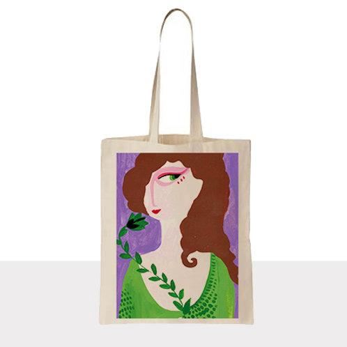 Şifacı Kadın Bez Çanta