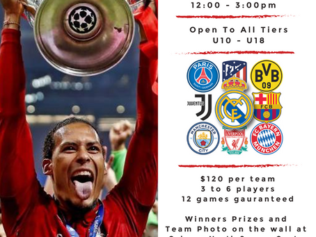 3v3 Champions League Cup