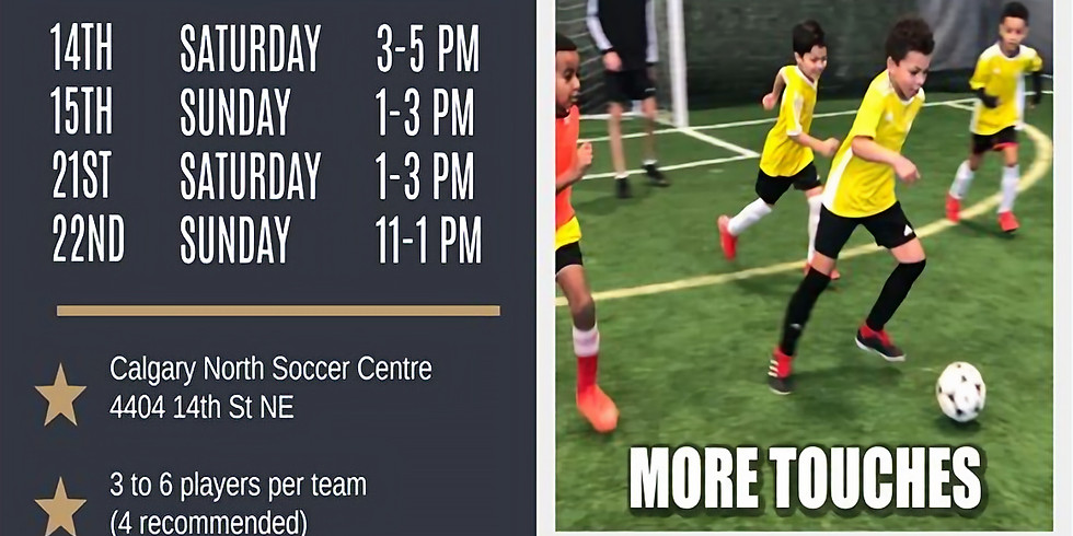 3v3 March Drop-In Sessions