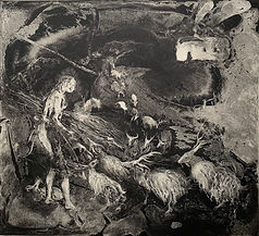 Kindling:2020:etching:£400:FloraMcLachl
