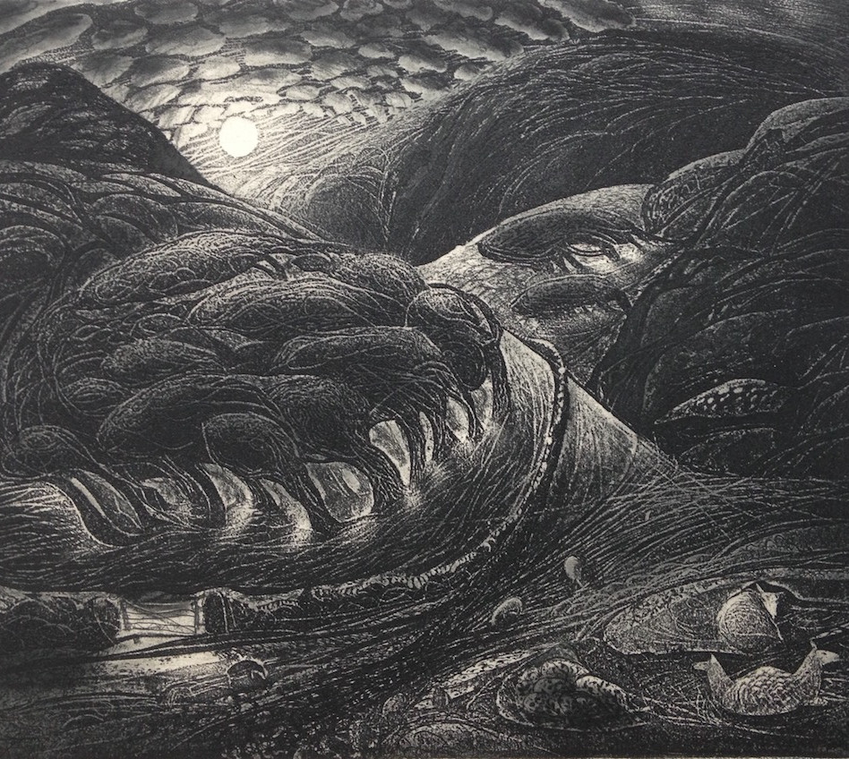 Eclogue VI; forests grow, and beasts roa