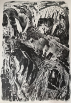 Mythos, stone lithograph and photolitho,