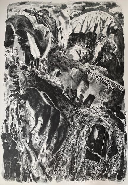 Mythos, stone lithograph and photolitho,