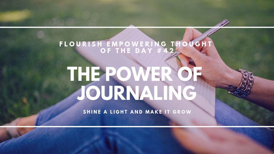 The power of Journaling: Shine a light and make it grow