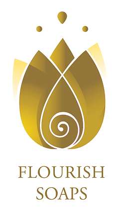 Flourish Soaps Logo Gold.png