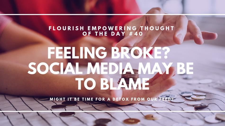 Feeling broke? Social media may be to blame