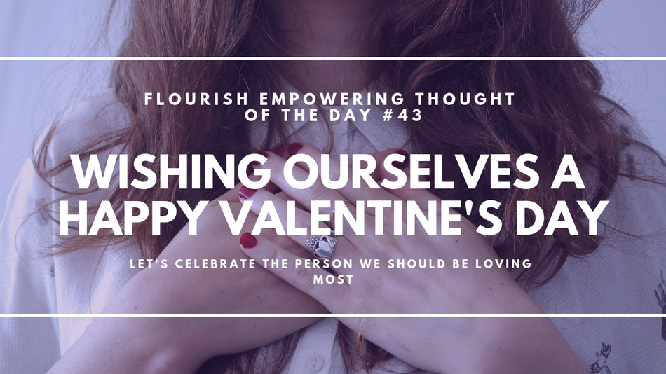 Wishing ourselves a happy Valentine's Day