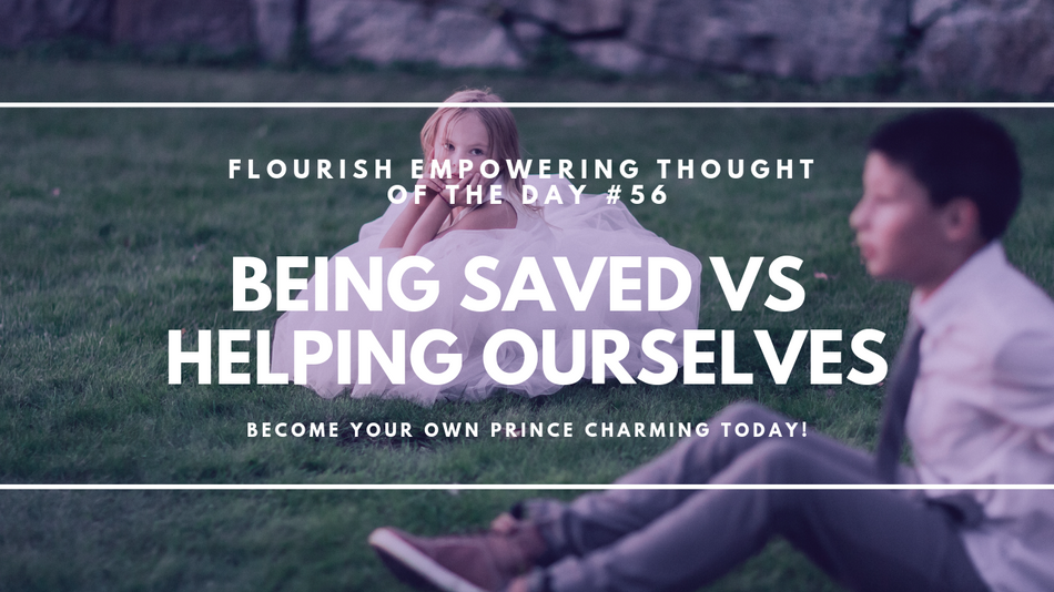 Being saved vs helping ourselves