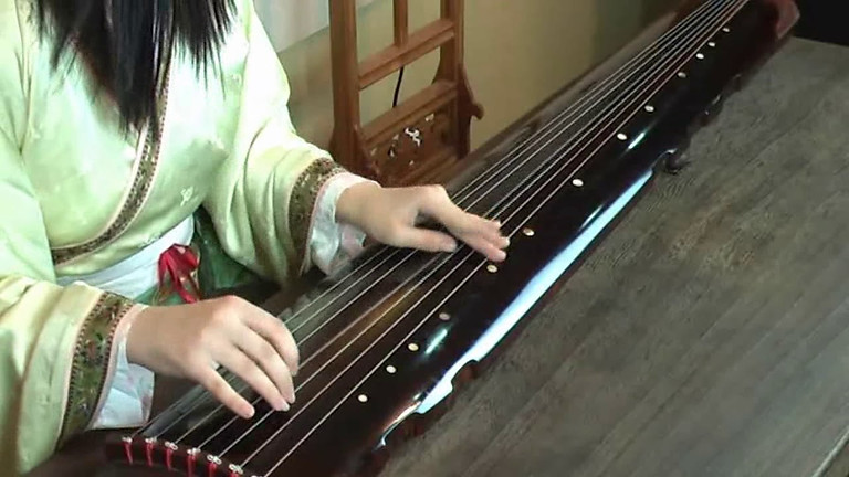 Chinese Traditional Guqin Performance and Appreciation