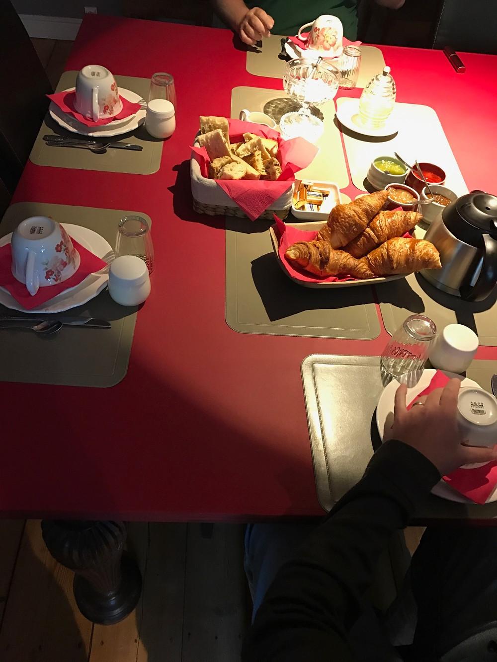 Aux Raisins Verts Kahvaltı