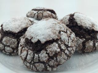 Çikolatalı Crinkle/Çatlak Kurabiye