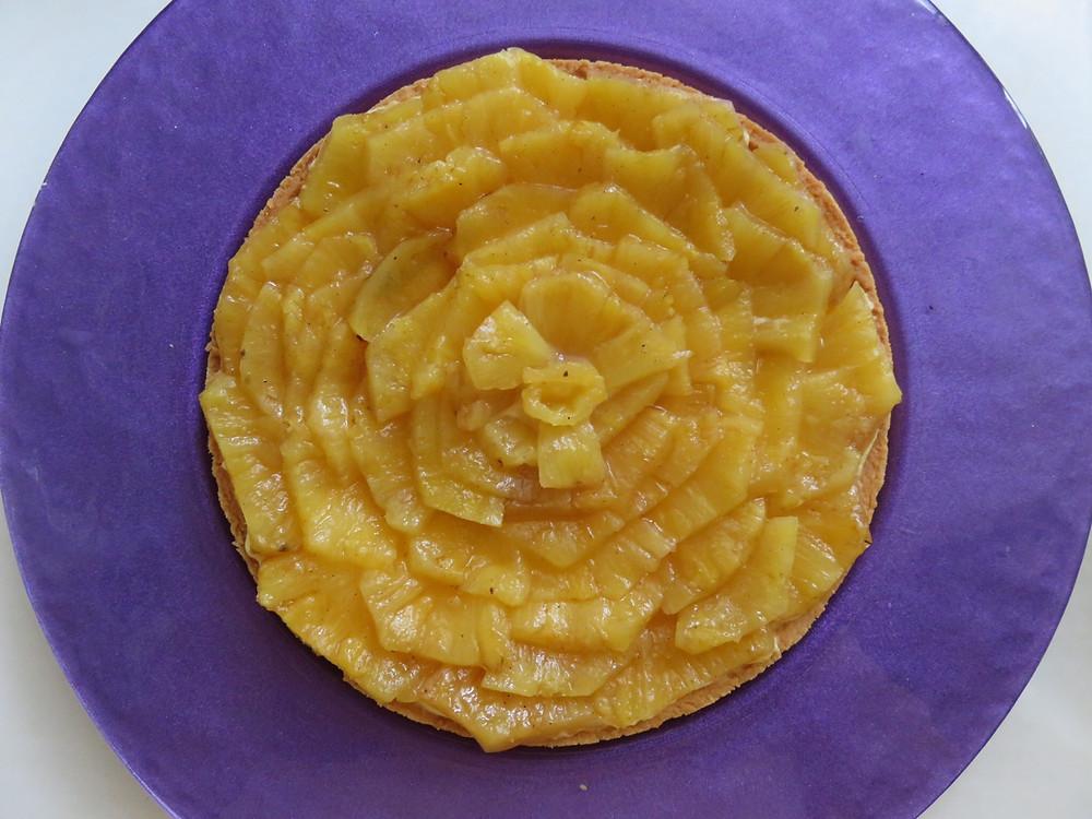 Çarkıfelek Kremalı Ananaslı Turta