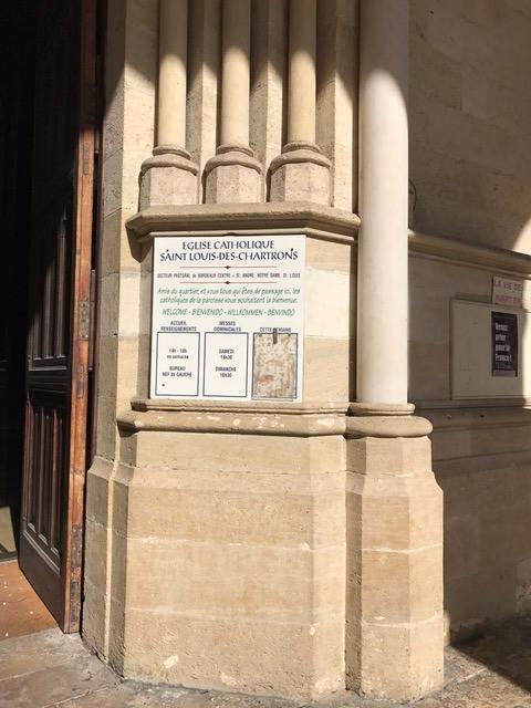 Eglise Catholique Saint Louis Des Chartrons