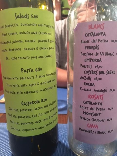 petra menu