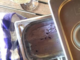 Şekersiz Yaban Mersinli Dondurma (Ballı)