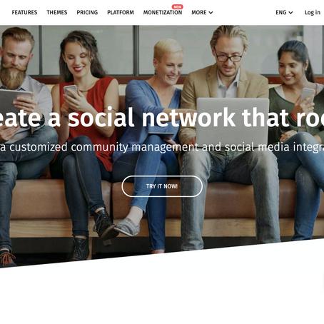 Rede social para chamar de sua