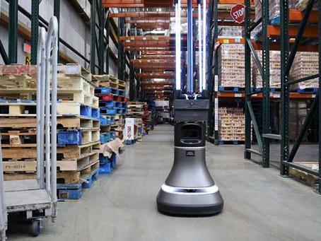 Разработан автономный робот для дезинфекции складов, убивающий коронавирус