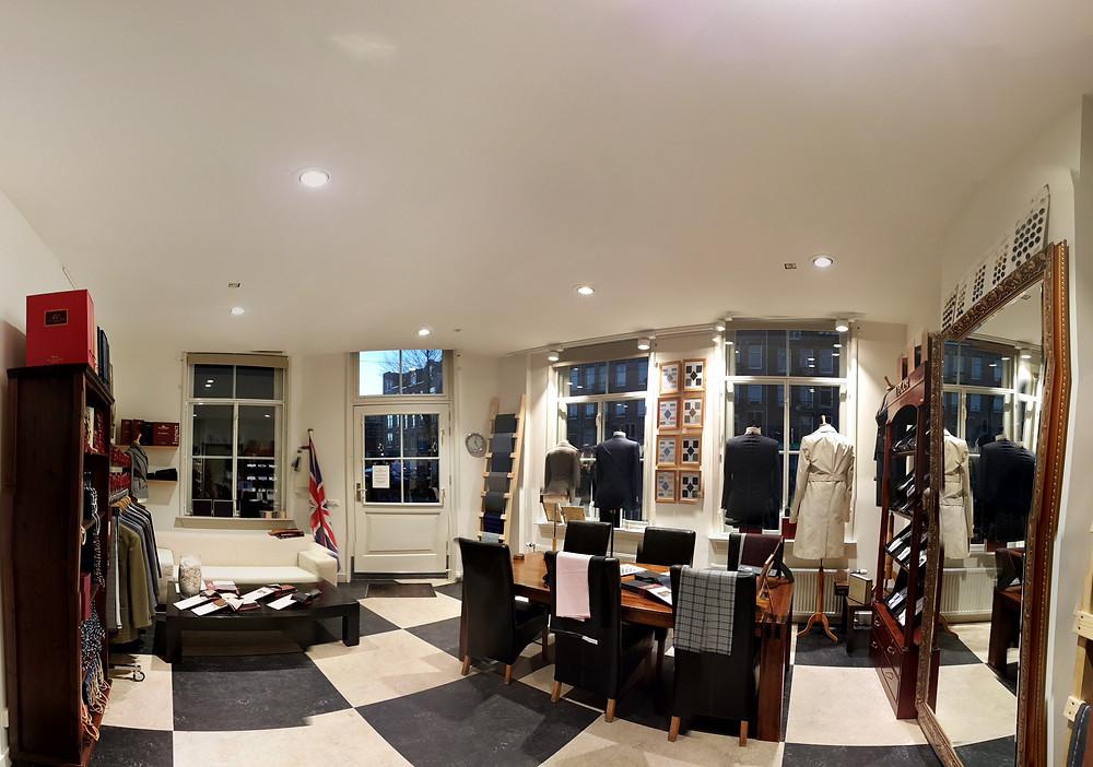 De Oost Bespoke Tailoring after BemStudio's light design