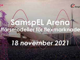 EVENT 18 NOVEMBER! SamspEl Arena: Affärsmodeller för flexmarkanden