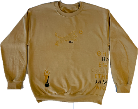 ESC Premium Champion's Crewneck Old Gold