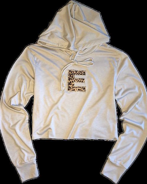Safari Cropped Hoodie (Cream Tan)