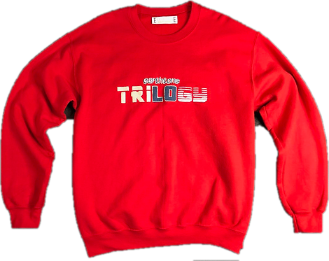 Trilogy Crewneck  (RED)