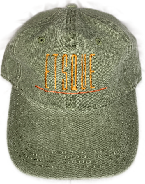 ETSQUE Emblem hat (Jungle Pigment)
