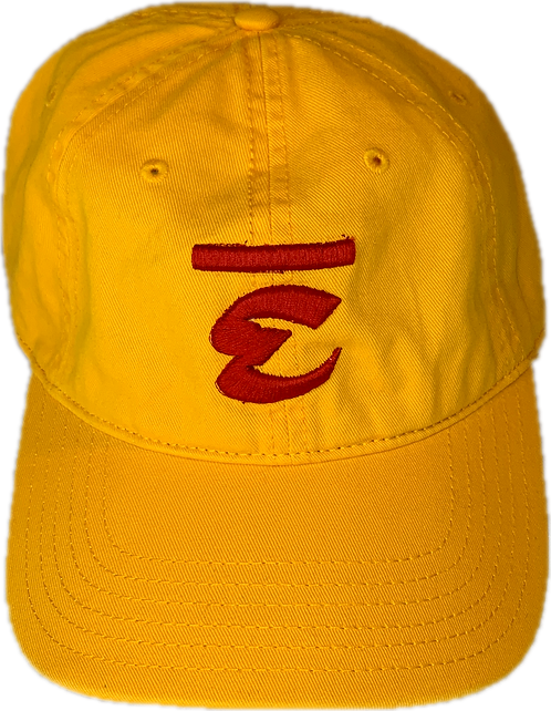 Tranquil Hat (Gold/Red)