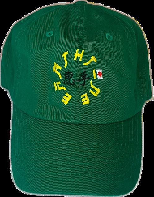 Fuji Circle Hat Green