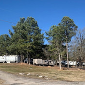 Roomy and sunny RV Sites at Hot Springs RV Park as seen on RVParkSales.com