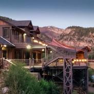 Glenwood Canyon Resort buildings