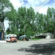 Center sites near flagpole