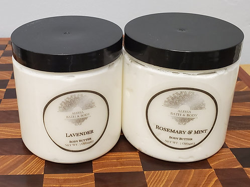 Natural Whipped Body Butter with Shea