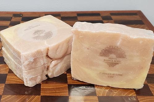 Parsley & Lime Handmade Soap