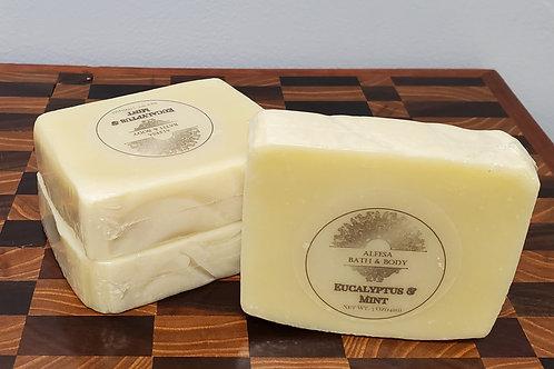 Eucalyptus and Mint Bar Soap